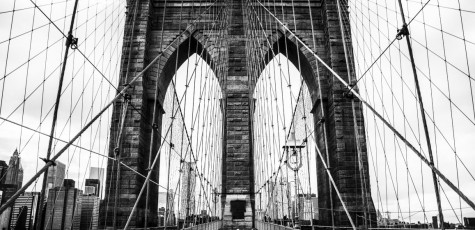 Brooklyn Bridge Wires (Medium)